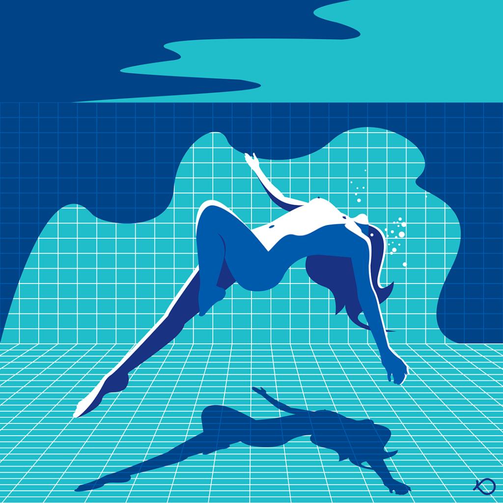 Nude Underwater